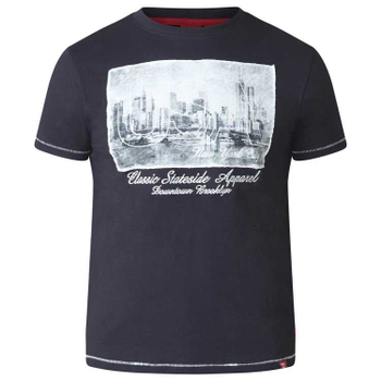T-shirt met USA-New York print