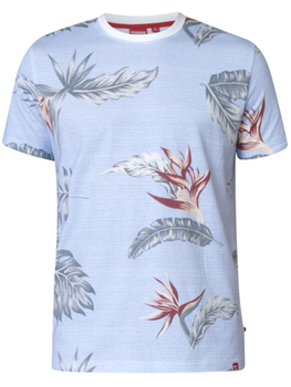 Hawaiian print T-shirt -  - Melvinsi