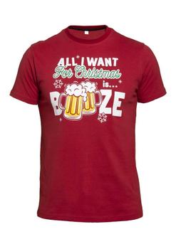 Kerst T-shirt Booze -  - Melvinsi