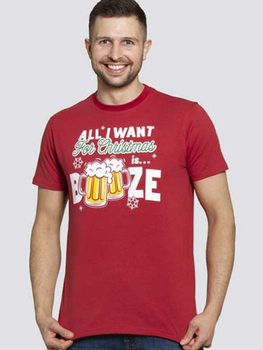 Kerst T-shirt Booze van D555
