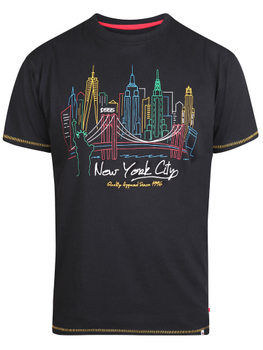 T-Shirt met New York print -  - Melvinsi