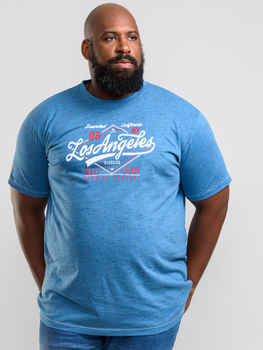 Mooi t-shirt van D555 met Los Angeles print. Hele fijne zachte polyester-katoen stof.