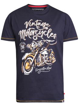 """T-Shirt """" Vintage Motorcycle"""" -  - Melvinsi"""