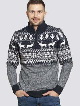 Kerst trui met rendiermotief van D555