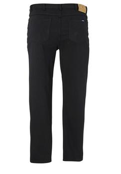 Rockford Comfort Straight Fit Jeans met ritssluiting, knoop en riemlussen. Twee steekzakken voor, waarvan 1 met muntzakje en 2 achterzakken.