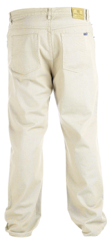 """Rockford Jeans met ritssluiting, knoop en riemlussen. Twee steekzakken voor, waarvan 1 met muntzakje en 2 achterzakken.Beenlengte: 34"""""""