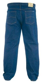 """Rockford Jeans met ritssluiting, knoop en riemlussen. Twee steekzakken voor, waarvan 1 met muntzakje en 2 achterzakken.  Beenlengte: 34"""""""