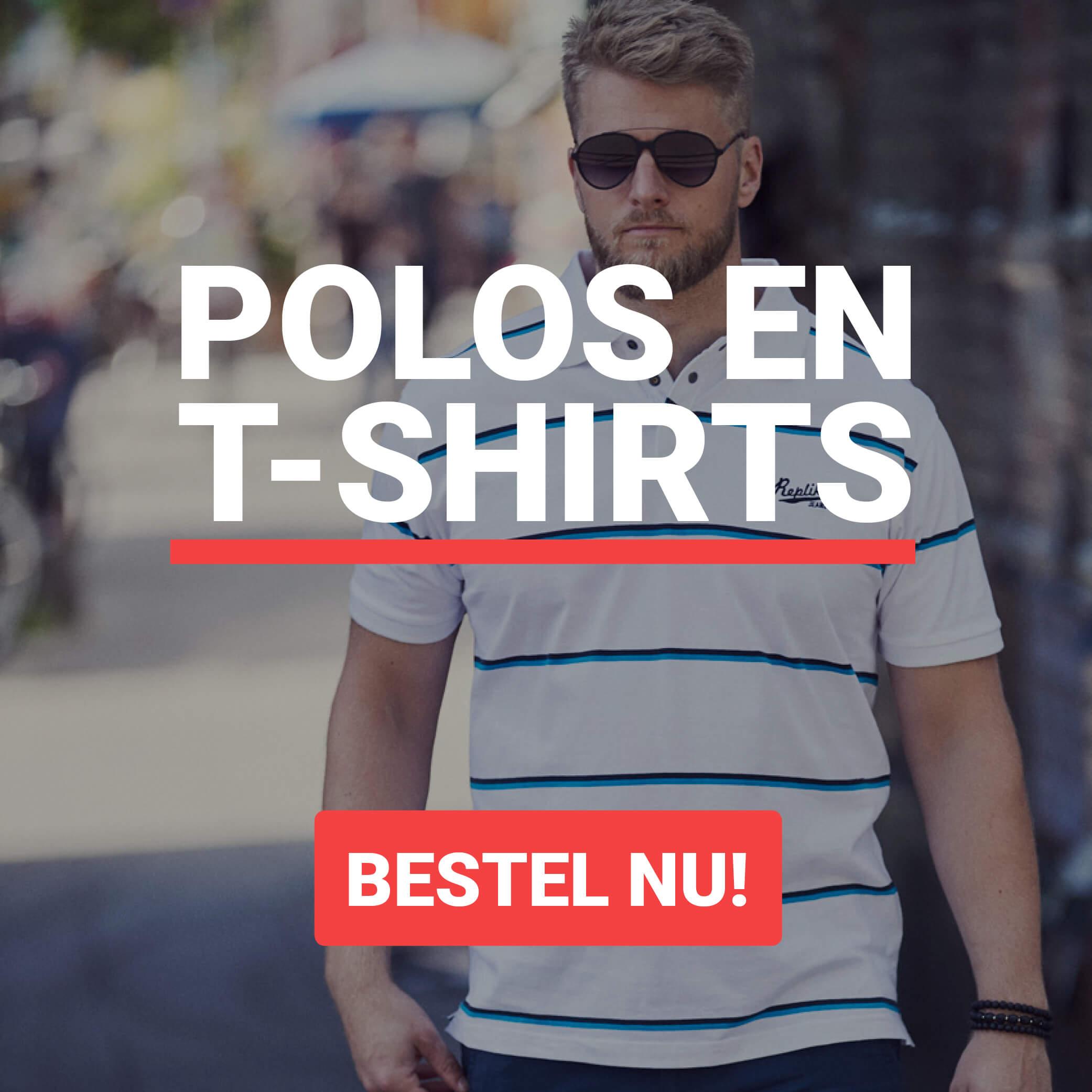 Grote Maten Polos en T-shirts