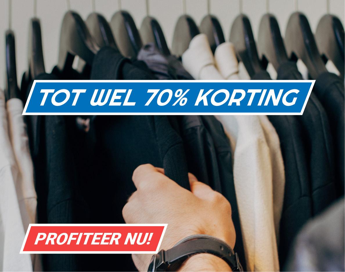Sale! Nu tot wel 70% korting op plus size kleding!