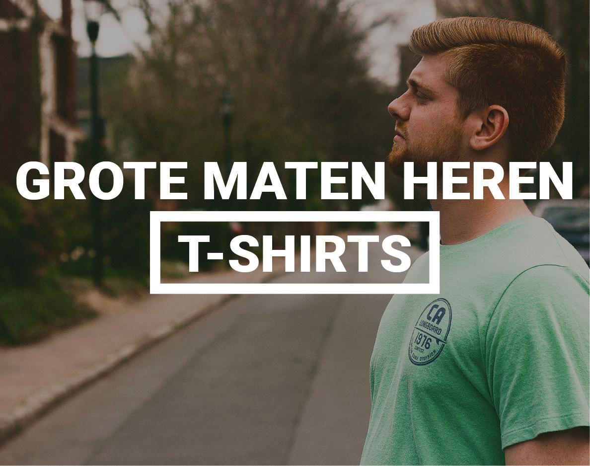 Grote maten heren T-shirts