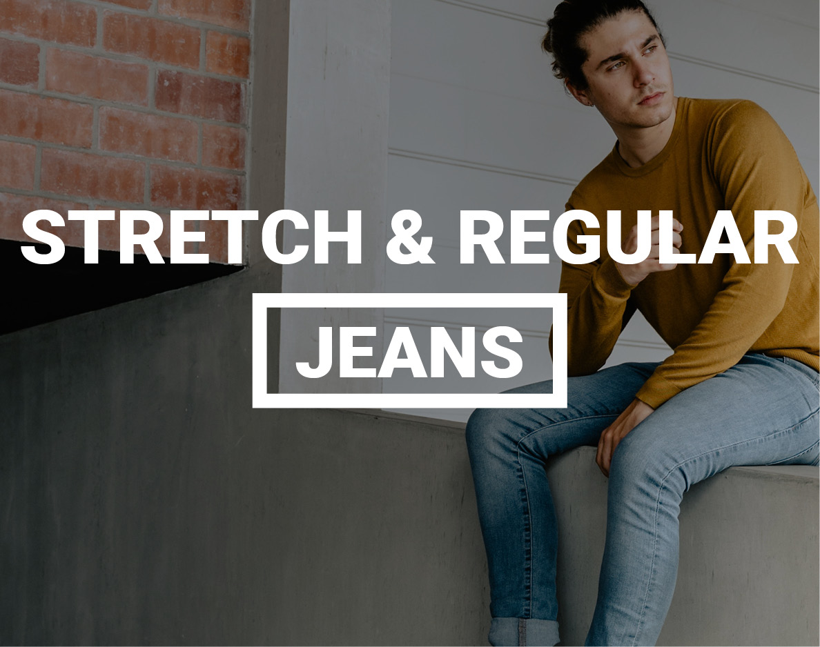 Jeans, in stretch & regular fit
