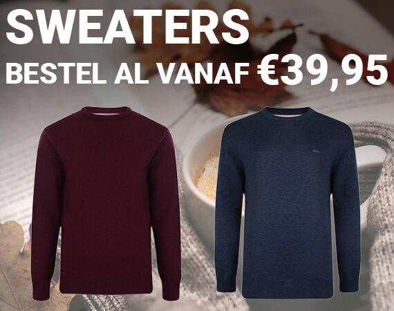 Sweaters, al vanaf 39,95!
