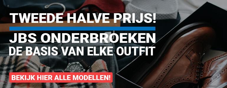 JBS Onderbroeken, tweede halve prijs!