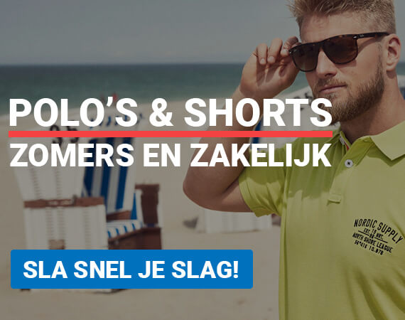 Polo's en shorts, zomers en zakelijk