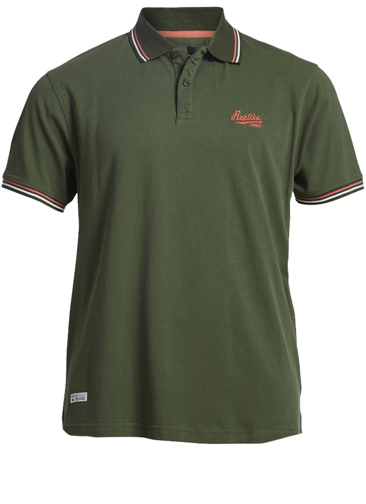 Replika Poloshirt  - 81315-650 - Melvinsi