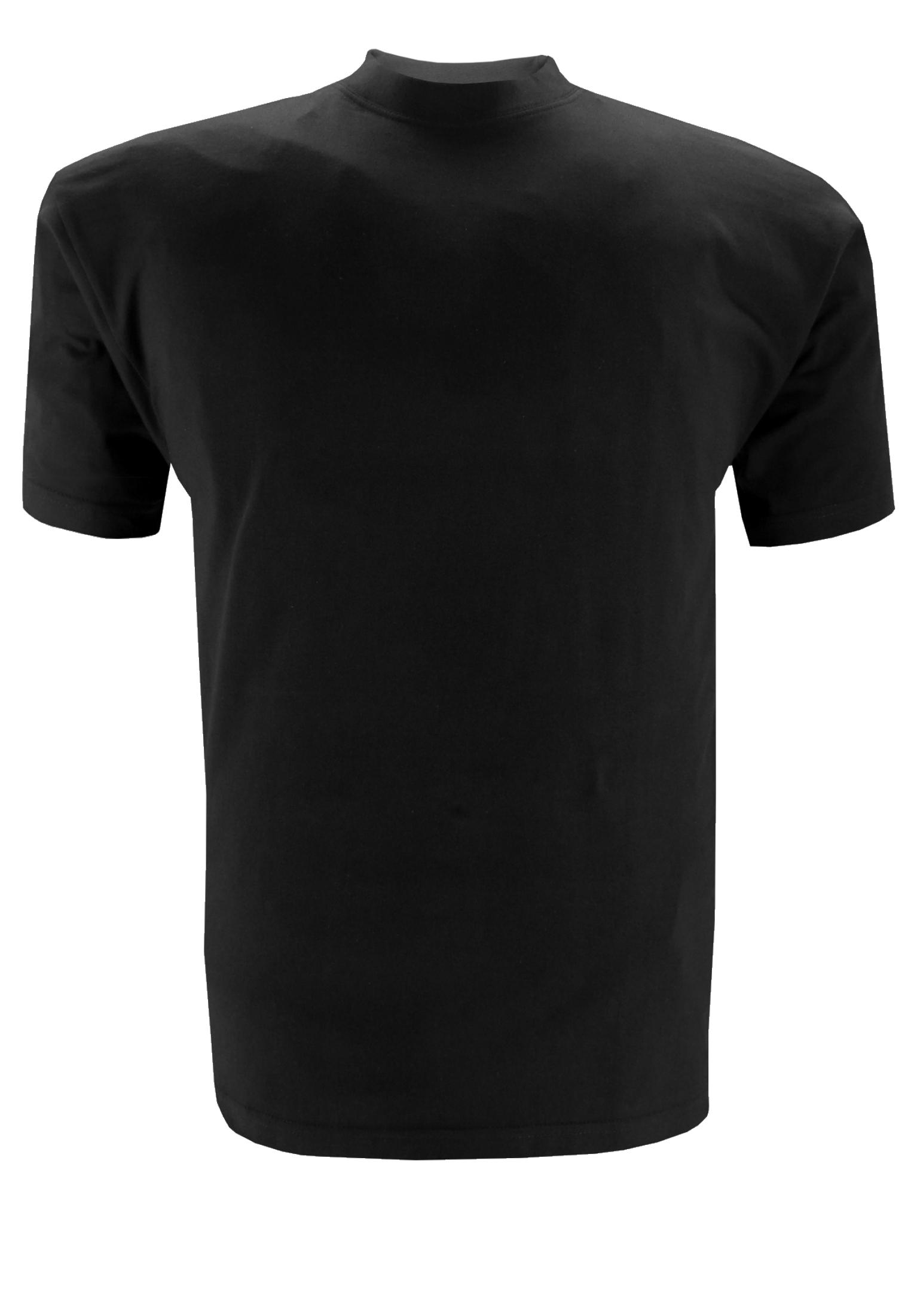 Greyes t-shirt met ronde hals in basic model.