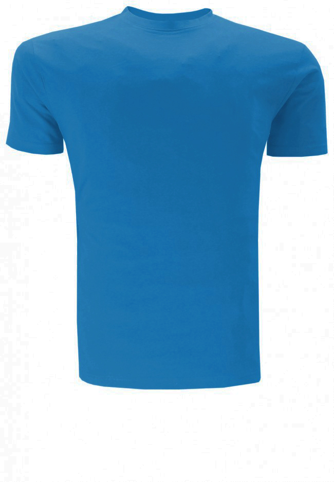 Greyes t-shirt met ronde hals in basic model.