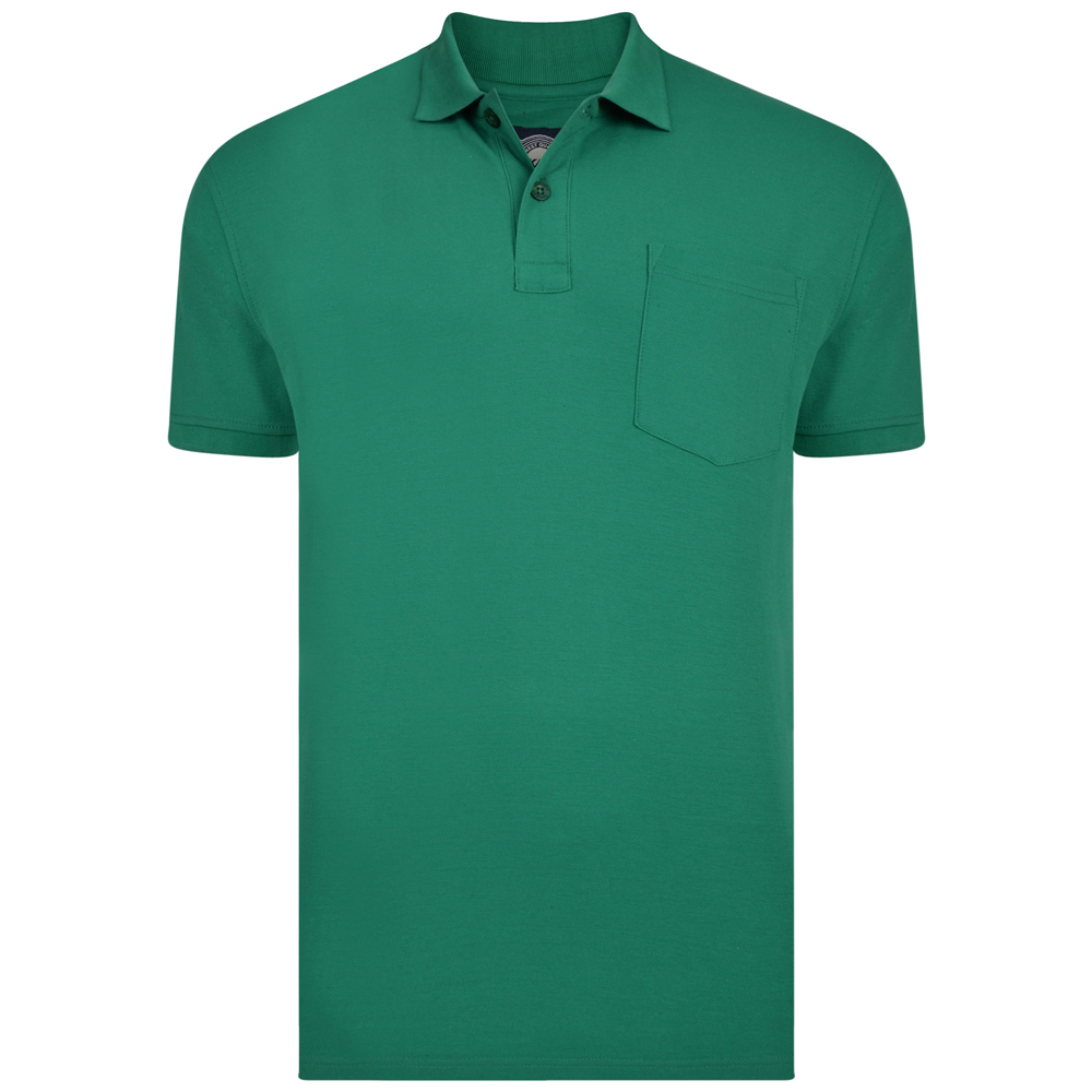 Polo van KAM in de kleur groen.