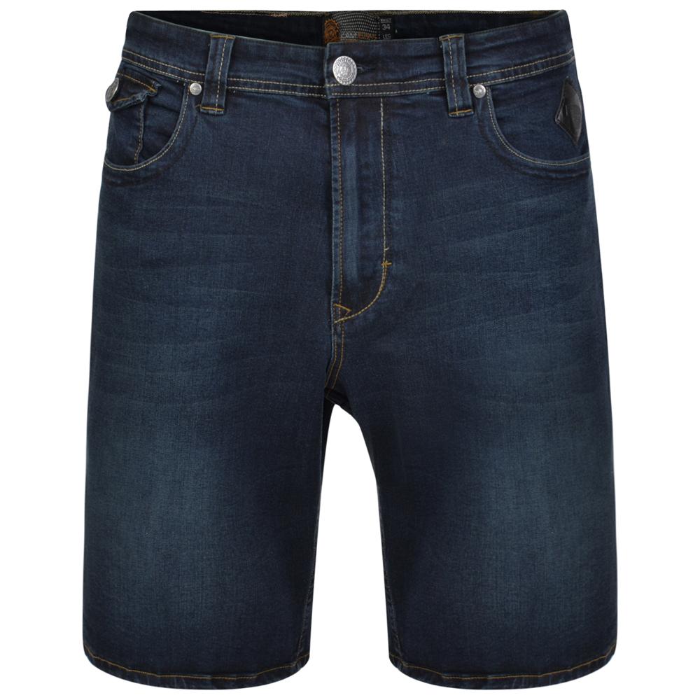 Short van KAM in de kleur Vincent, gemaakt van spijkerstof.