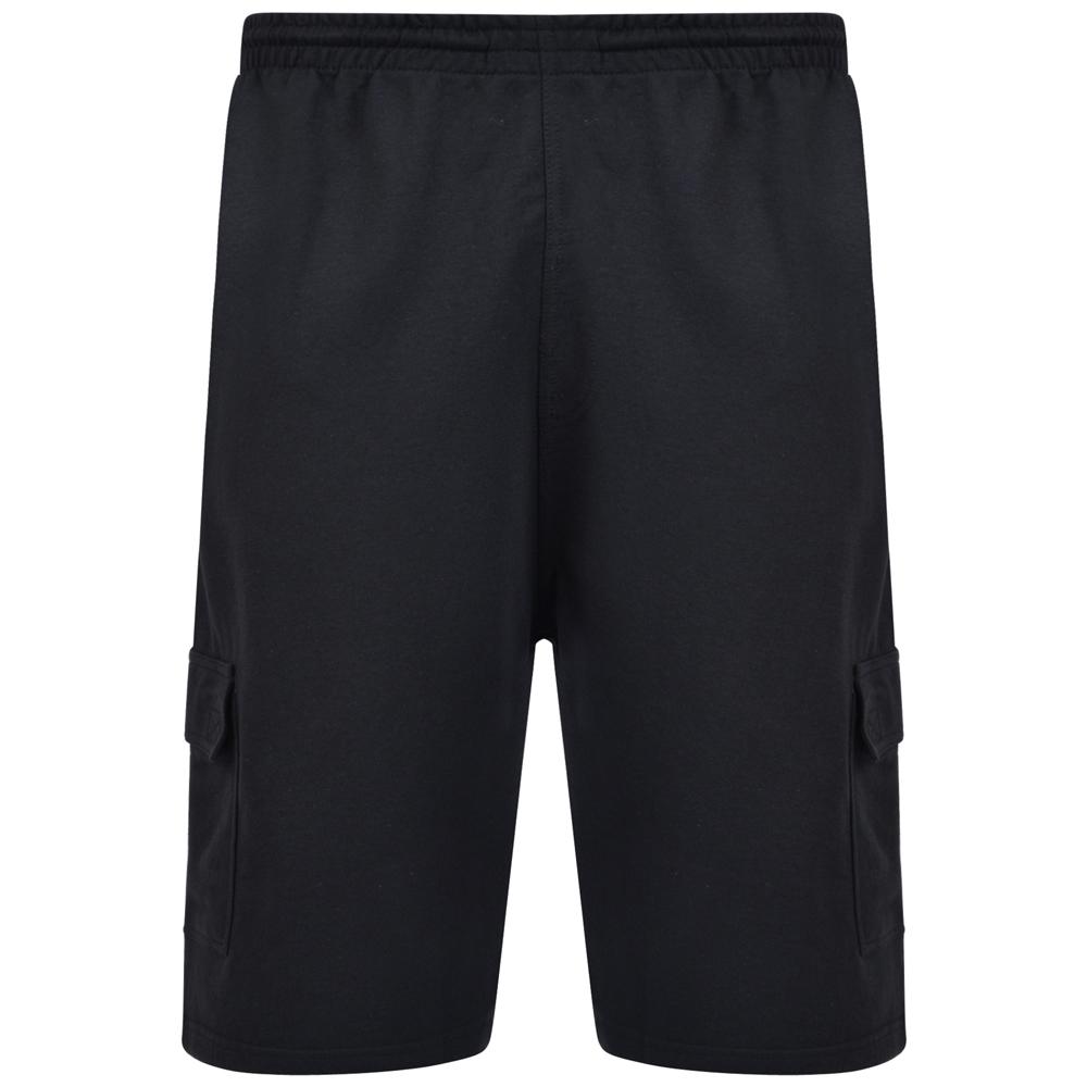 Short van KAM in de kleur zwart.