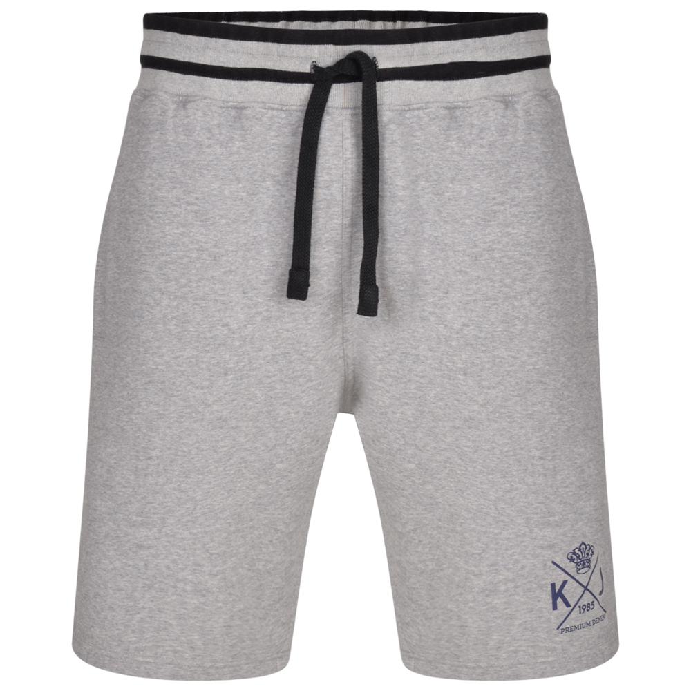 Jogging short van KAM in de kleur grey/grijs.