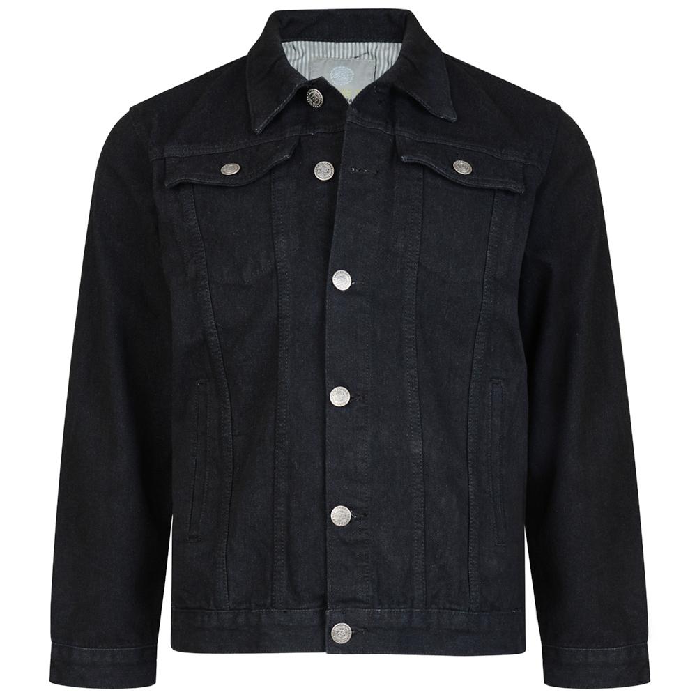 Hoogwaardige western-denim jasje - beschikbaar in zwart- 2 borstzakken en 2 zijzakken - geweldig voor lente / zomertijd