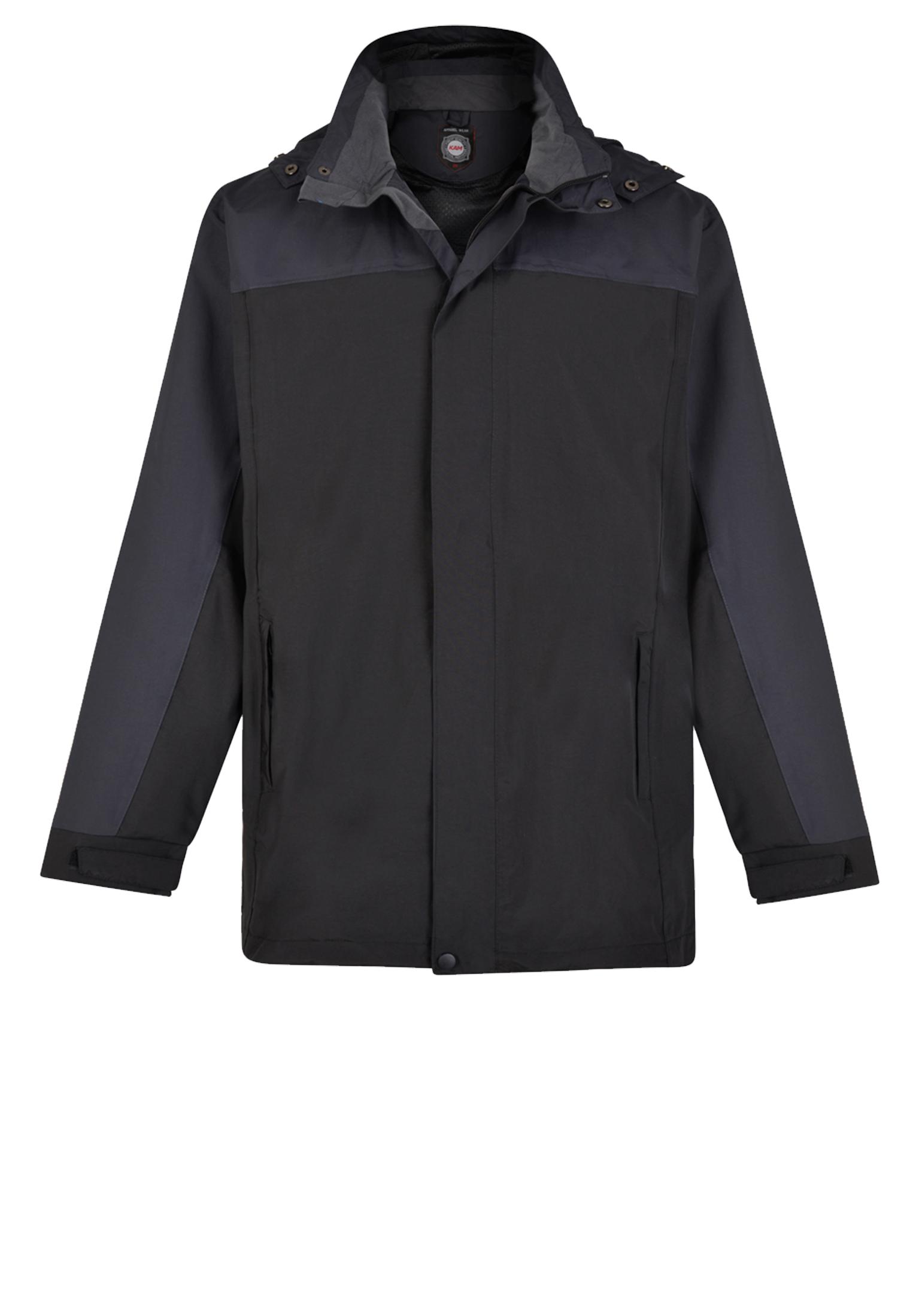 Een ademende, waterdichte jas. De jas is gemaakt van 100% premium soft shell stof. Dit zorgt voor een goede draagcomfort. De jas heeft 2 zakken met ritssluiting, verstelbare manchetten, afneembare capuchon en een mesh voering.
