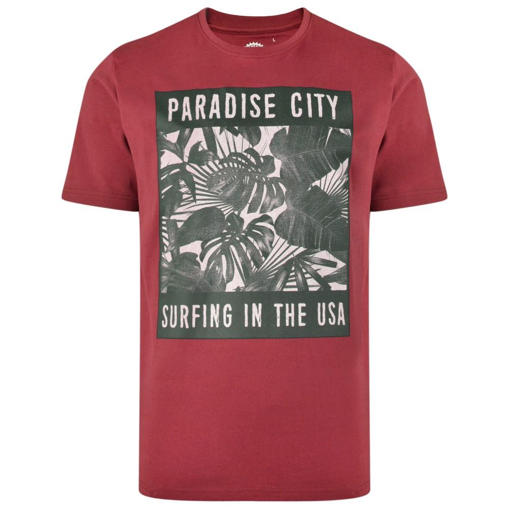 T-Shirt Paradise City van KAM Jeanswear