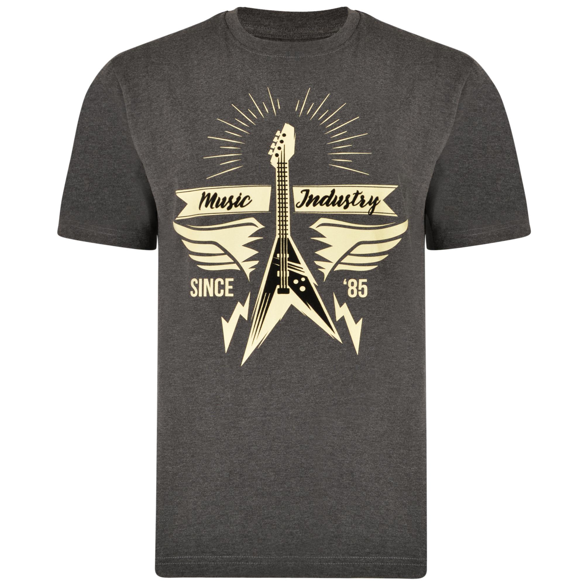 T-shirt van KAM met Music Industry print