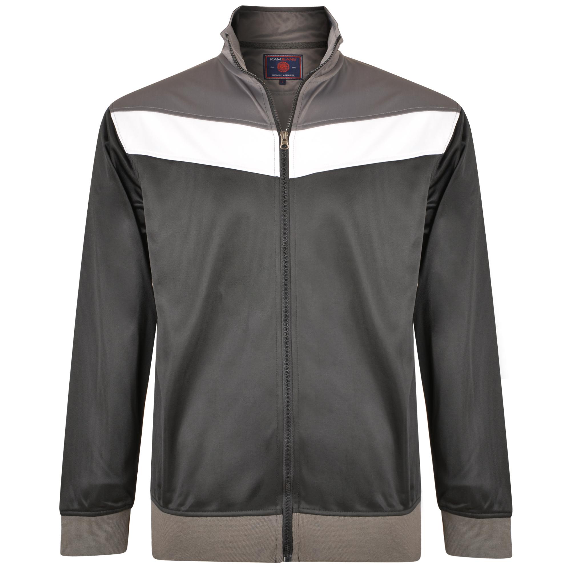 Tricot sport top van merk KAM Jeanswear in de kleur zwart, gemaakt van polyester.