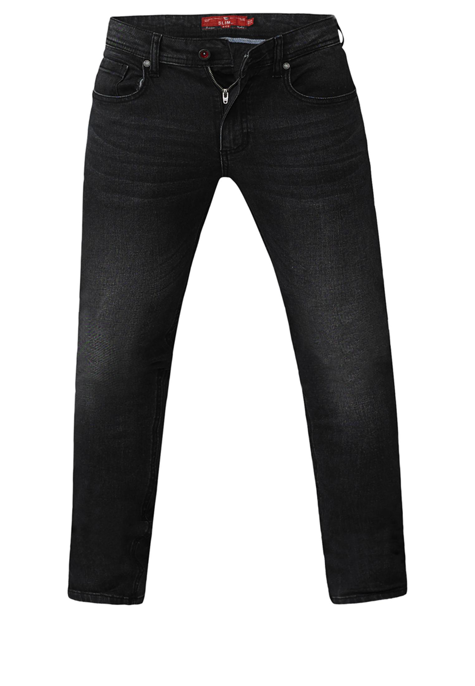 Een grijze stonewashed stretch Jeans met knoop- en ritssluiting, 2 steekzakken en 1 muntzakje, 2 open zakken aan de achterkant en een logo op de achterkant van de tailleband. Gemaakt van extra zachte stretch katoen voor fantastisch draagcomfort.