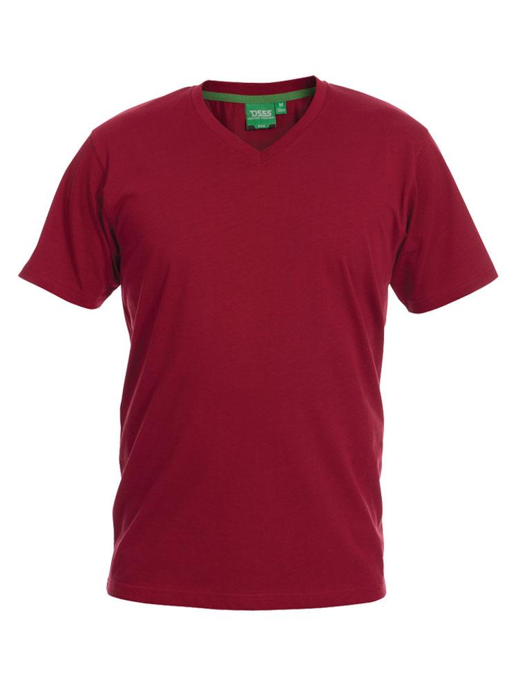 D555 T-shirt V-hals 3 halen = 2 betalen!