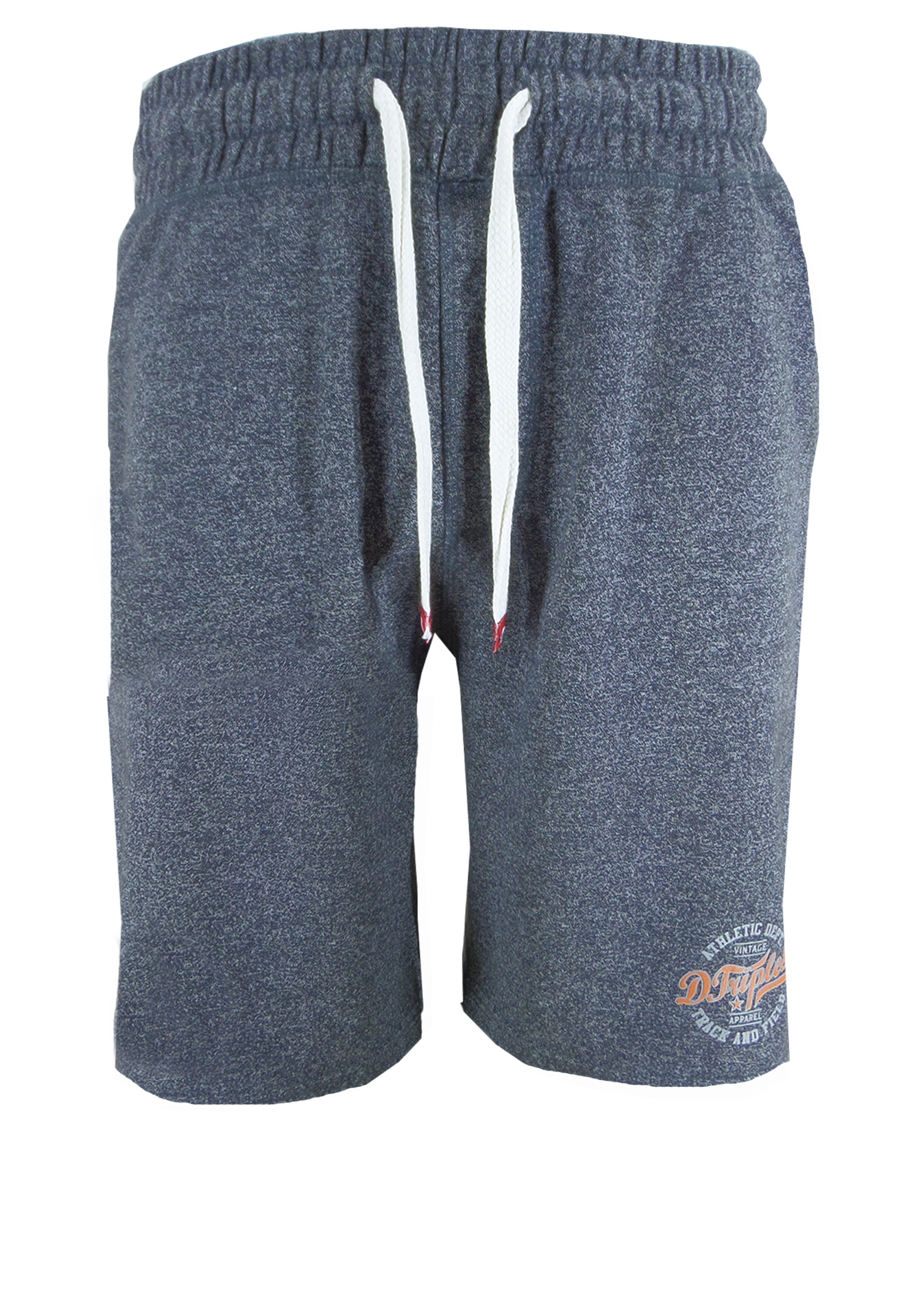 Deze joggingshort draagt zeer comfortabel doordat ze gemaakt is van een dikke jerseystof. De joggingbroek is voorzien van een elastische tailleband met koord en heeft twee open steekzakken. Een korte broek die niet alleen geschikt is voor de sport maar ook lekker voor thuis.