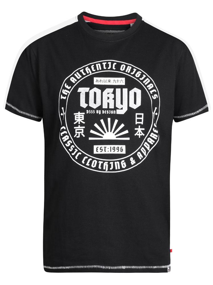 T-Shirt van D555 met Tokyo print