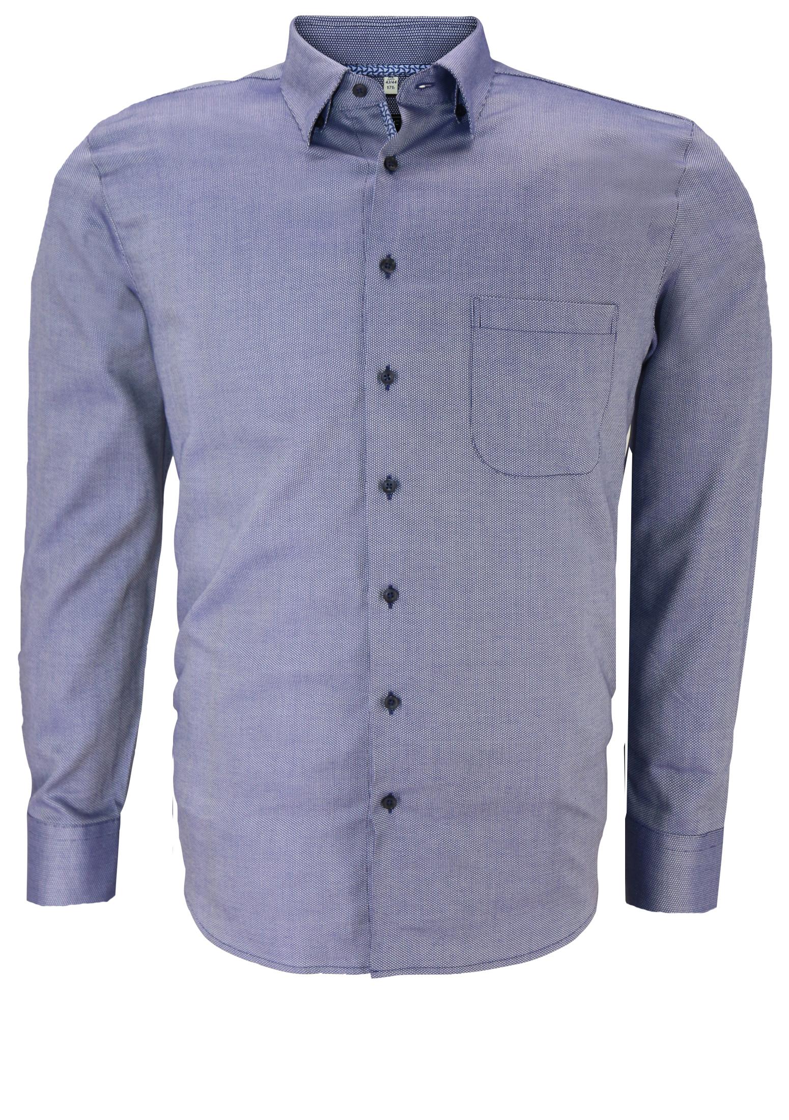 Het Overhemd.Melvinsi Overhemd 1xl 6xl Blauw Bestel Nu Bij Melvinsi