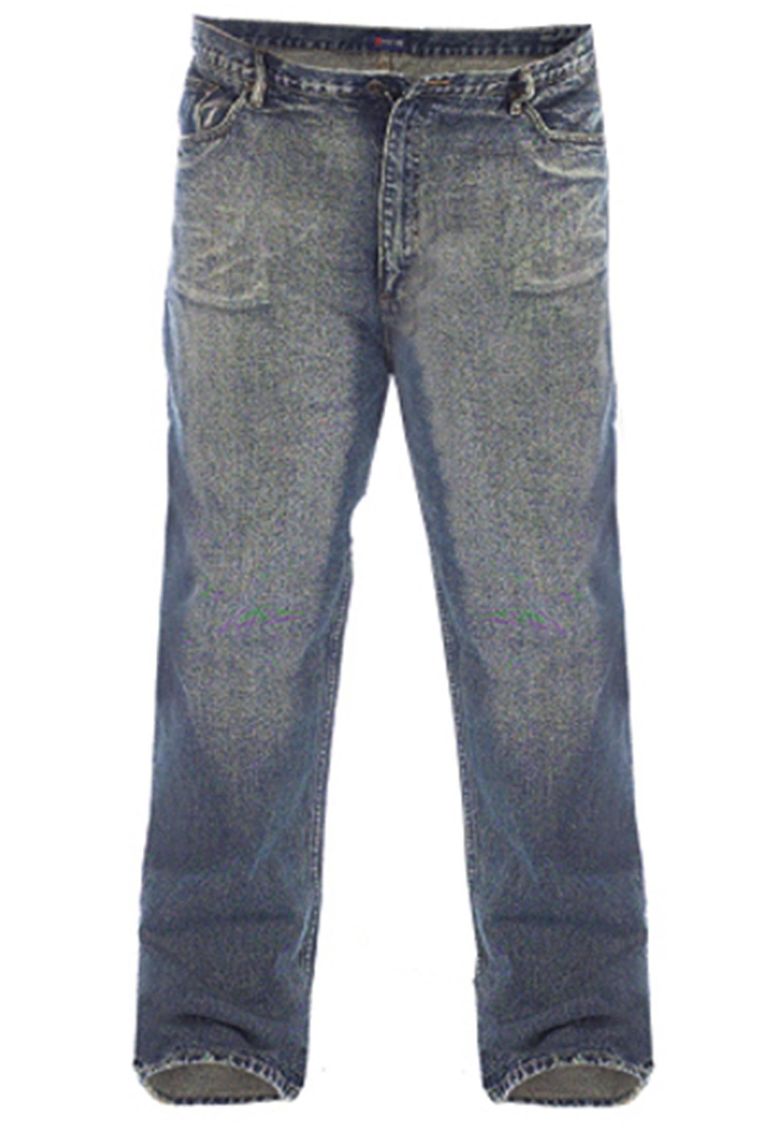 Rockford jeans in 5-pocket model met knoop-ritssluiting, merklogo op de tailleband rechts achter.
