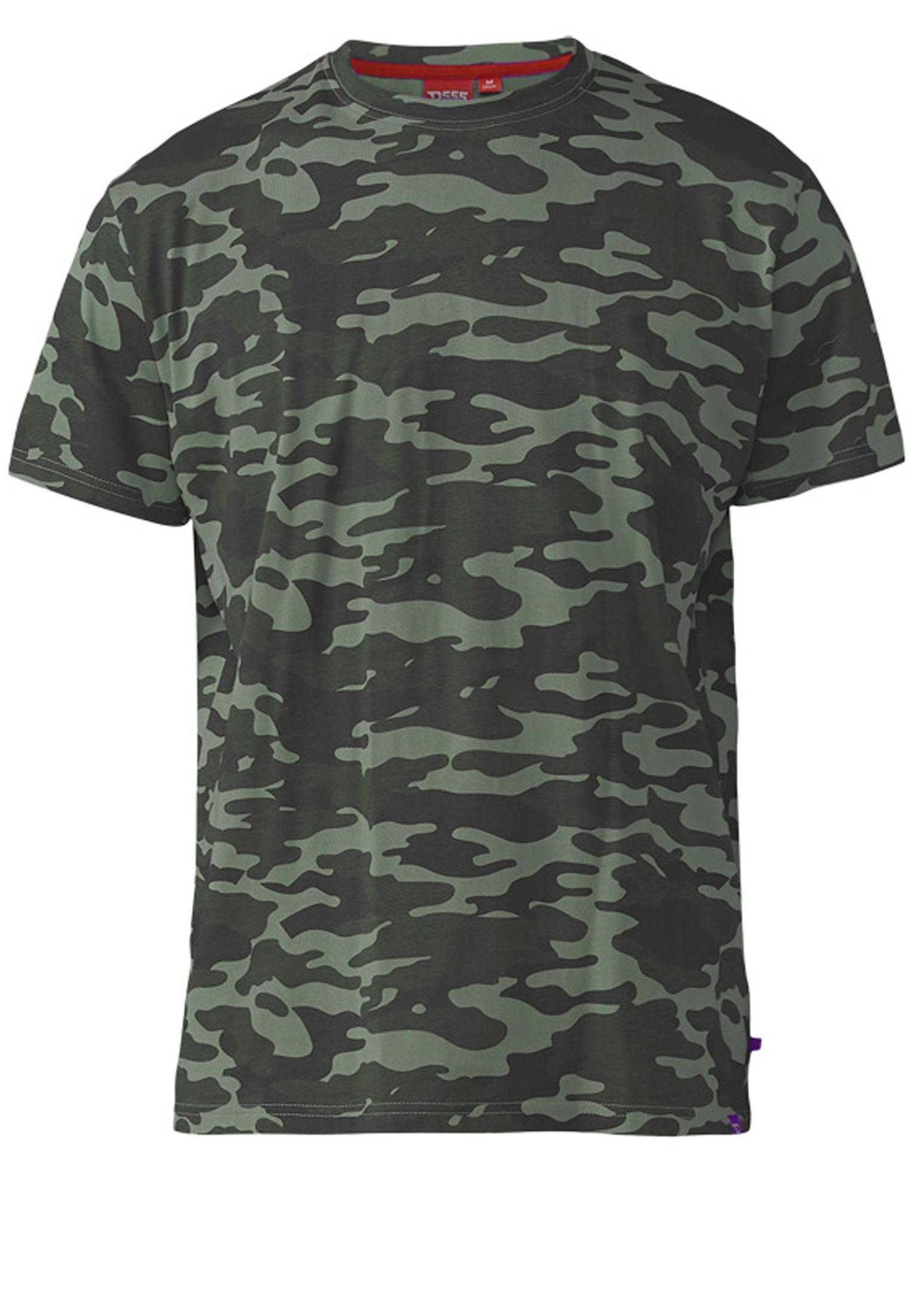 D555 t-shirt voor de stoere mannen onder ons is dit t-shirt een echte aanrader. Leuk te combineren met een effen short of jeans.
